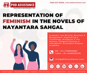 Representation of Feminism in the Novels of Nayantara Sahgal